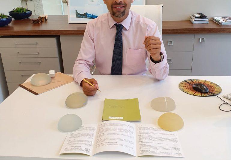 consultório em Itajaí Dr. Alexandre Charão